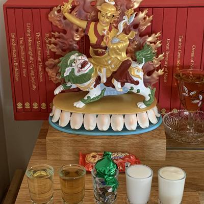 Dorje Shugden shrine