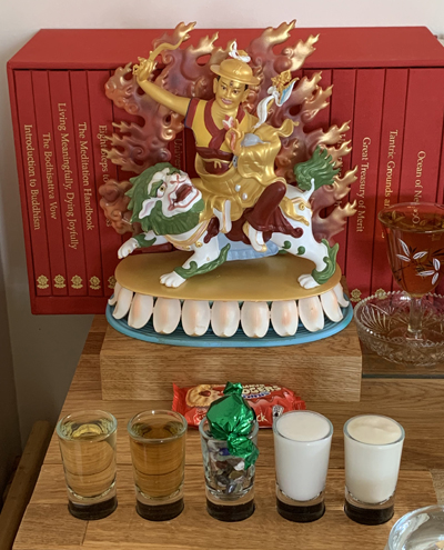Dorje Shugden shrine