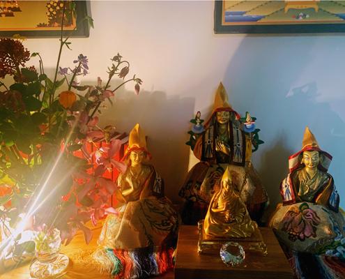 Je Tsongkhapa shrine