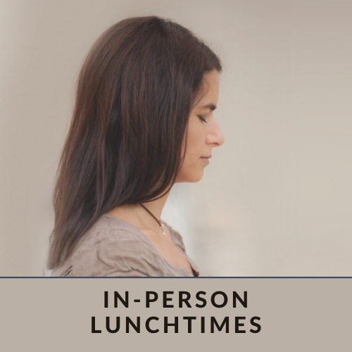 in person lunchtime classes