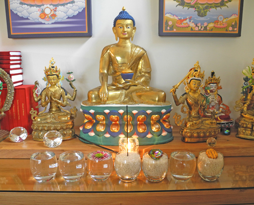 Buddha Shakyamuni shrine