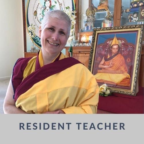 Resident Teacher Kelsang Malaya