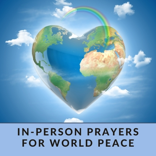 Prayers and meditation for world peace